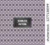 geometric pattern background.... | Shutterstock .eps vector #1277138599