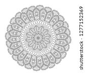 round design element with lace... | Shutterstock .eps vector #1277152369