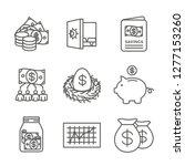 retirement account and savings... | Shutterstock .eps vector #1277153260