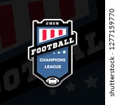football champions league...   Shutterstock .eps vector #1277159770