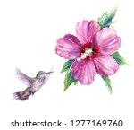 watercolor painting.  hand...   Shutterstock . vector #1277169760