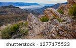 Mountain Peak Vista Over Bad...