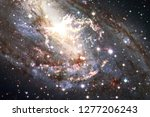 nebulae an interstellar cloud... | Shutterstock . vector #1277206243