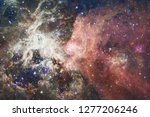 nebula an interstellar cloud of ... | Shutterstock . vector #1277206246