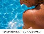 detail of woman's shoulder... | Shutterstock . vector #1277219950
