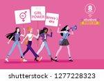 women from different ethnic...   Shutterstock .eps vector #1277228323