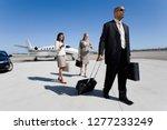 businessman and businesswomen... | Shutterstock . vector #1277233249