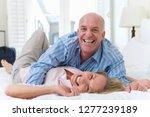 portrait of loving mature... | Shutterstock . vector #1277239189