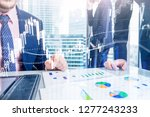 forex trading  financial market ... | Shutterstock . vector #1277243233