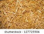 Dry Straw Macro Shot....