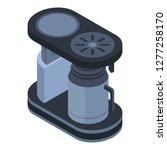 old coffee maker icon.... | Shutterstock .eps vector #1277258170