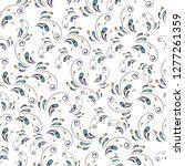 floral seamless pattern....   Shutterstock .eps vector #1277261359