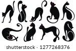 cute cartoon cat.vector icons   Shutterstock .eps vector #1277268376