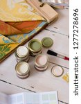 paint tester pots with color... | Shutterstock . vector #1277278696