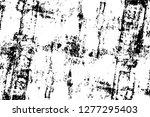 vector grunge overlay texture.... | Shutterstock .eps vector #1277295403