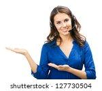 portrait of happy smiling... | Shutterstock . vector #127730504