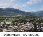 vaduz  liechtenstein on august... | Shutterstock . vector #1277309683