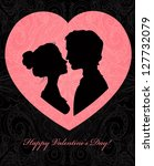 Valentine\'s Day Card With...