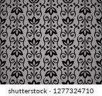 flower geometric pattern.... | Shutterstock . vector #1277324710