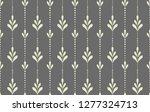 flower geometric pattern.... | Shutterstock . vector #1277324713