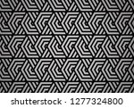 abstract geometric pattern with ... | Shutterstock . vector #1277324800