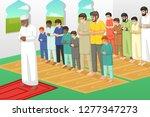 a vector illustration of...   Shutterstock .eps vector #1277347273