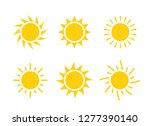 sun icon symbol illustration ...