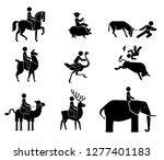 set of pictograms presenting...   Shutterstock .eps vector #1277401183