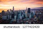 san francisco skyline at... | Shutterstock . vector #1277422420