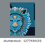 vector color illustration of... | Shutterstock .eps vector #1277434153