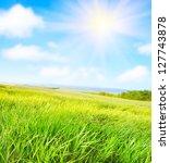 green field   Shutterstock . vector #127743878