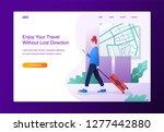 modern flat design concept.... | Shutterstock .eps vector #1277442880
