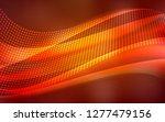dark red  yellow vector texture ... | Shutterstock .eps vector #1277479156