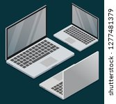 vector isometric electronic... | Shutterstock .eps vector #1277481379