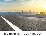 panoramic city skyline and... | Shutterstock . vector #1277483989