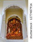 kali god statue at mehrangarh...   Shutterstock . vector #1277487916
