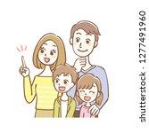 illustration of family.    Shutterstock .eps vector #1277491960