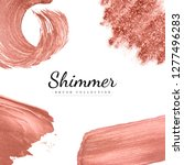 pink shimmer bush collection... | Shutterstock .eps vector #1277496283