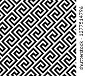 seamless pattern of lines.... | Shutterstock .eps vector #1277514796