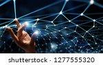 connection technologies... | Shutterstock . vector #1277555320