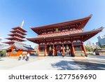 asakusa  taito  tokyo  japan... | Shutterstock . vector #1277569690
