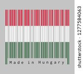 barcode set the color of...   Shutterstock .eps vector #1277584063