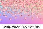 wedding background. card... | Shutterstock .eps vector #1277593786