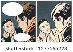 stock illustration. two men...   Shutterstock .eps vector #1277595223