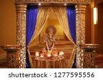 indian and hindu wedding... | Shutterstock . vector #1277595556