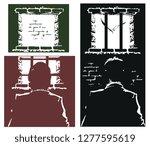stock illustration. male in...   Shutterstock .eps vector #1277595619