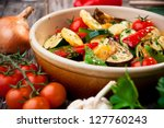oven roasted vegetables | Shutterstock . vector #127760243