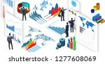 businessman in business... | Shutterstock . vector #1277608069