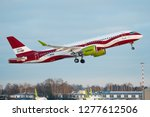 riga  january 2019   an... | Shutterstock . vector #1277612506