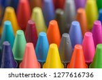 close up of colorful and pastel ... | Shutterstock . vector #1277616736